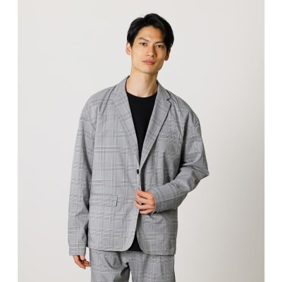TR RELAX JACKET 柄GRY5