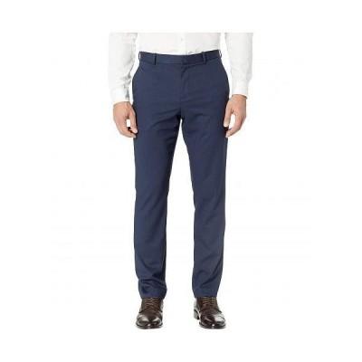 Perry Ellis Portfolio ペリーエリス メンズ 男性用 ファッション パンツ ズボン Slim Fit Solid Textured Dress Pants - Bay Blue