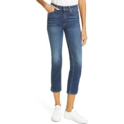 ラグ&ボーン RAG & BONE レディース ジーンズ・デニム ボトムス・パンツ Nina High Waist Ankle Cigarette Jeans Manchester