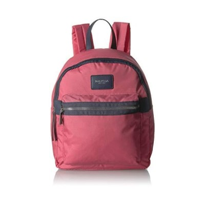 Nautica Armada Formation Top Handle Backpack with Large Front Zipper Pocket, Coral【並行輸入品】
