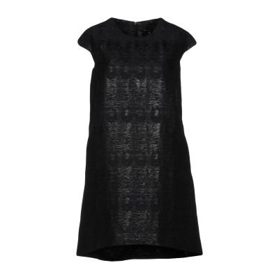 ブライアン デールズ BRIAN DALES ミニワンピース&ドレス ブラック 42 コットン 58% / ポリエステル 28% / ナイロン 14