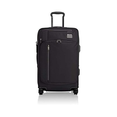 TUMI - Merge Short Trip Expandable Packing Case Medium Suitcase - Rolling Luggage for Men and Women - Black Contrast