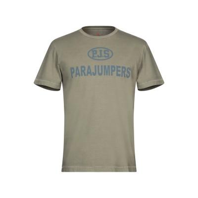 PARAJUMPERS T シャツ ライトグリーン XS コットン 100% T シャツ