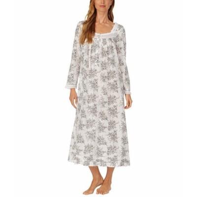 エイレーンウェスト ナイトウェア アンダーウェア レディース Cotton Lawn Woven Long Sleeve Ballet Gown Grey Toile