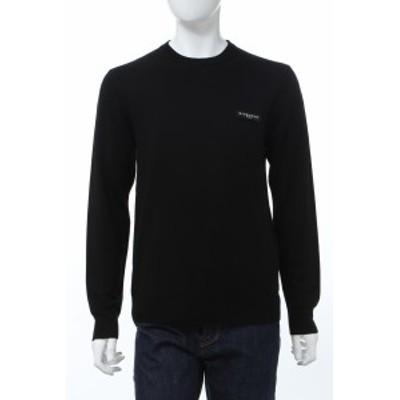 ジバンシー ジバンシィ GIVENCHY セーター ニット 丸首 クルーネック ブラック メンズ (BM90BW404X) 送料無料 2020年春夏新作