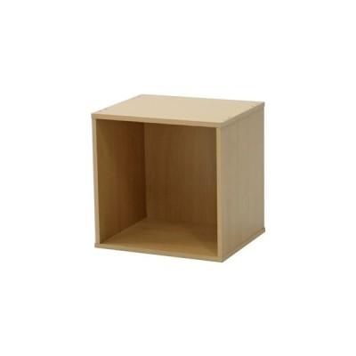 ds-2336772 収納ボックス/ディスプレイラック 【オープン ナチュラル】 幅34.5cm キューブボックス CUBE BOX 組立品 〔リビング〕 (ds2336772)