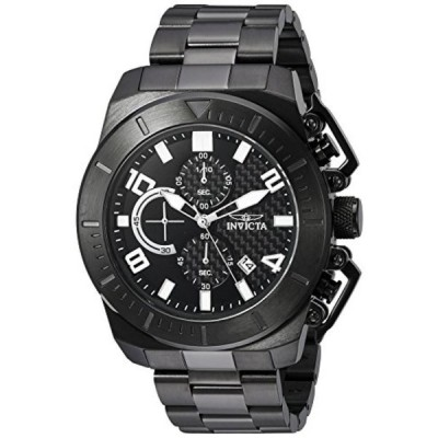 インビクタ 腕時計 メンズウォッチ Invicta Men's 'Pro Diver' Quartz Stainless Steel Casual Watch, Color:Black (Model: 23409)