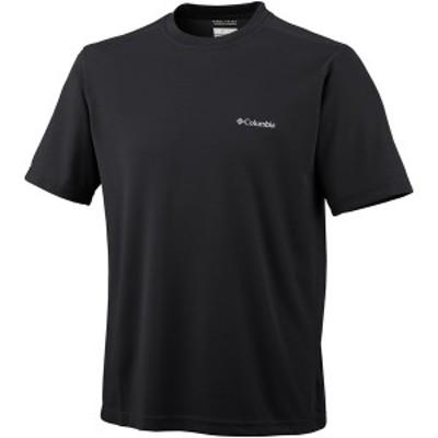 コロンビア メンズ シャツ トップス Meeker Peak Short-Sleeve Crew Black