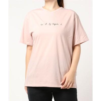 tシャツ Tシャツ W984 TS ロゴTシャツ
