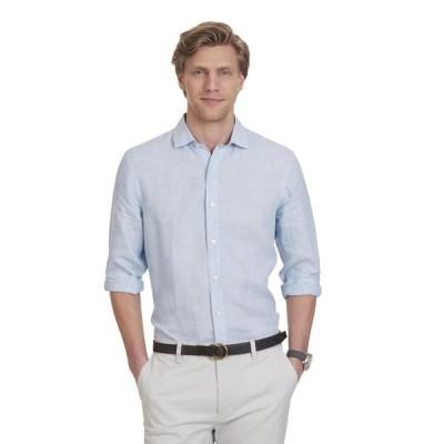 カジュアルシャツ ノーティカ Nautica メンズ スリム Fit Linen ShirtCOOL BREEZE CSI