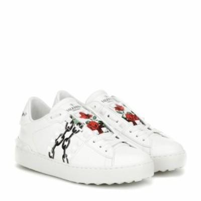 ヴァレンティノ Valentino レディース スニーカー シューズ・靴 Garavani X UNDERCOVER leather sneakers Bianco