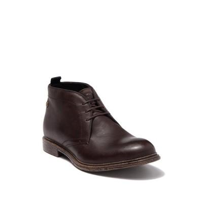 ベースロンドン メンズ ブーツ&レインブーツ シューズ Jasper Leather Chukka Boot BROWN