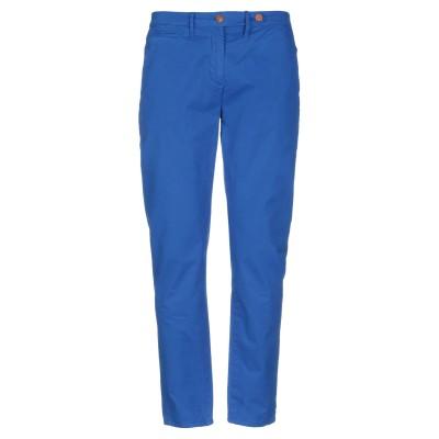 AIGLE パンツ ブライトブルー 30 コットン 100% パンツ