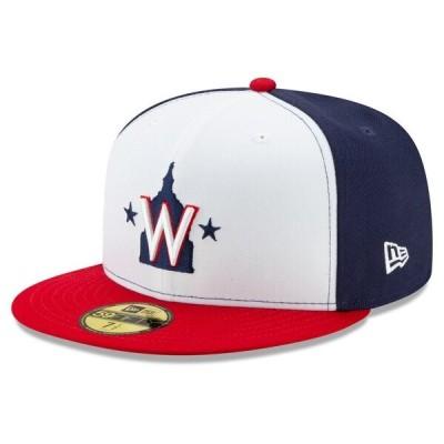 MLB ワシントン・ナショナルズ キャップ/帽子 オーセンティック オンフィールド 59FIFTY 2020 ニューエラ/New Era オルタネート 2 平つば キャップ 特集