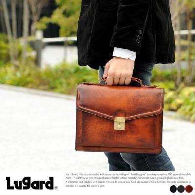 青木鞄 Lugard 本革ショルダーバッグ メンズ 日本製 レザー 2way