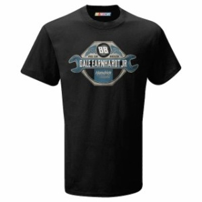 The Game ザ ゲーム スポーツ用品  The Game Dale Earnhardt Jr. Black Hexagon T-Shirt