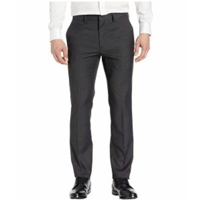 ケネスコール メンズ カジュアルパンツ ボトムス Stretch Textured Weave Slim Fit Dress Pants Charcoal Heather