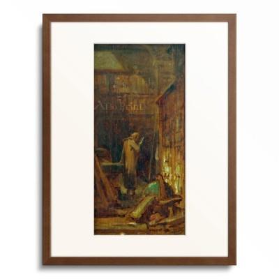 カール・シュピッツヴェーク Carl Spitzweg 「In the library」