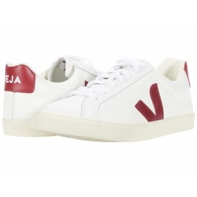 ヴェジャ スニーカー シューズ レディース Esplar Logo Extra White/Marsala