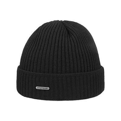 Stetson Parkman Knit Hat Women/Men Black One Size