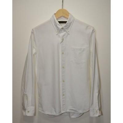 【中古】FULLCOUNT フルカウント オックスフォードボタンダウンシャツ M WHT FULLCOUNT-OX-BD
