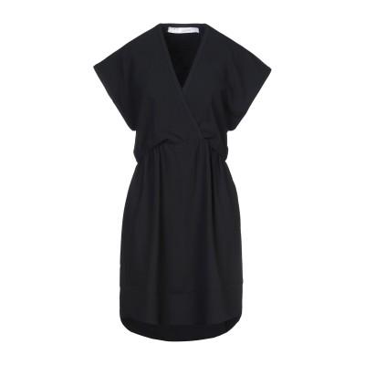 イロ IRO ミニワンピース&ドレス ブラック 40 ポリエステル 100% ミニワンピース&ドレス
