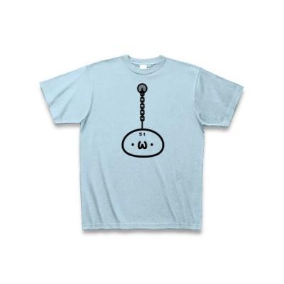 重り(・ω・)02(両面)(ショボンTシャツ)(しょぼんTシャツ)