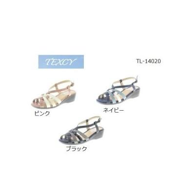 テクシー サンダル アシックス商事 新品 レディース 靴 カジュアル スポーティ 3E TL−14020