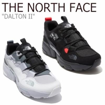 ノースフェイス スニーカー THE NORTH FACE メンズ レディース DALTON II ダルトン II BLACK WHITE NS93L41J/K シューズ