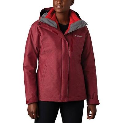 (取寄)コロンビア レディース ウィリバード IV インターチェンジ ジャケット Columbia Women's Whirlibird IV Interchange Jacket Beet Crossdye / Re 送料無料