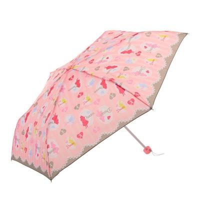 ノーブランド No Brand ATTAIN アテイン 女児 軽量楽々ミニ 折りたたみ 50cm (5194.pink)