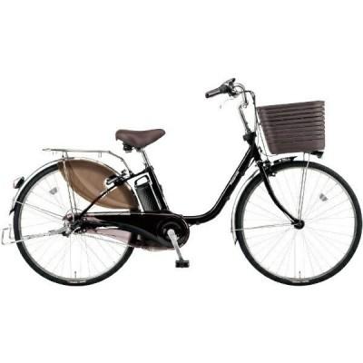 PANASONIC BE-ELD636-B3 オニキスブラック ビビ・DX 電動アシスト自転車(26インチ・内装3段) メーカー直送