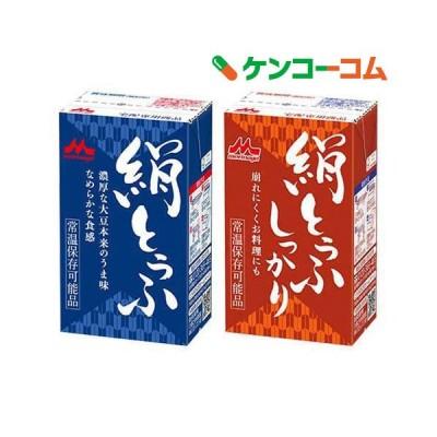 森永 絹とうふ+森永 絹とうふしっかり ( 1セット )
