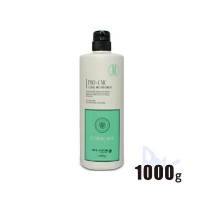 デラクシオプロ CMC トリートメント フローラルミックス 1000g ポンプタイプ 千代田化学 (優しい雰囲気を表現したフローラルベースの香り)