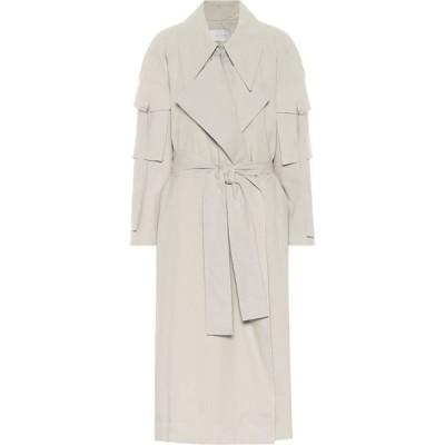 ロウ クラシック Low classic レディース トレンチコート アウター Cotton trench coat Mint