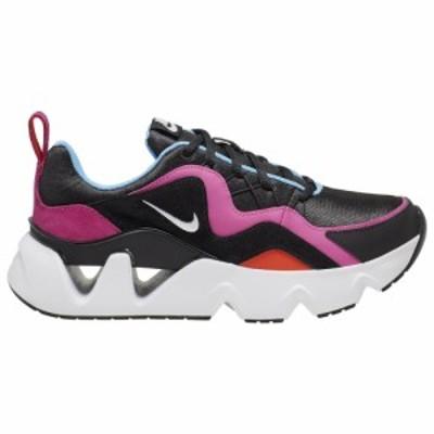 ナイキ レディース/ウーマン スニーカー Nike RYZ 365 ランニングシューズ Black/White/Fire Pink/Enjoy the Ride