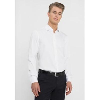 トミー ヒルフィガー メンズ シャツ トップス REGULAR FIT - Formal shirt - white white