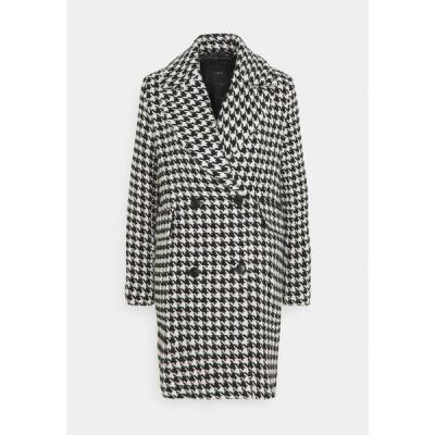 ヤス コート レディース アウター YASHILMA  - Classic coat - black/white