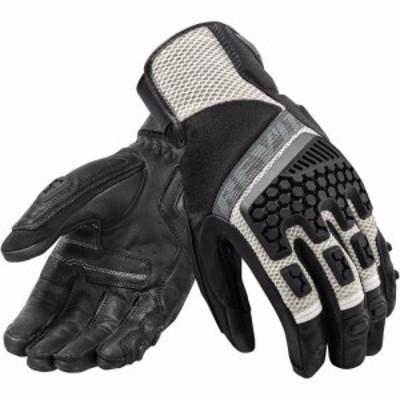 REVIT 3通気性手袋 オートバイサイクリング レーシングレザーグローブモトクロスタッチスクリーンGuantes ブラック サイズL