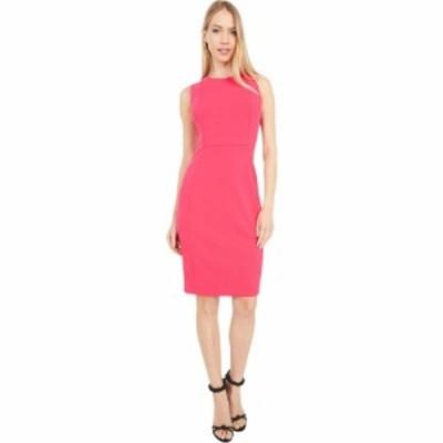 カルバンクライン Calvin Klein レディース ワンピース ワンピース・ドレス Solid Sheath Dress Lipstick
