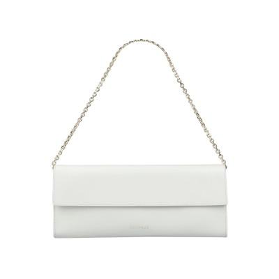 COCCINELLE ハンドバッグ ライトグレー 革 ハンドバッグ