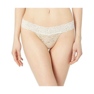 Maidenform メイデンフォーム レディース 女性用 ファッション 下着 ショーツ Sexy Must Haves Lace Thong - Paris Nude W/Ivory