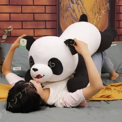 動物のぬいぐるみ パンダぬいぐるみ 抱き枕 動物 ぬいぐるみ 置物 店飾り 抱き枕 だき枕 プレゼント 子供プレゼント 横向き寝 お祝い ぬいぐるみ 気持ちいい