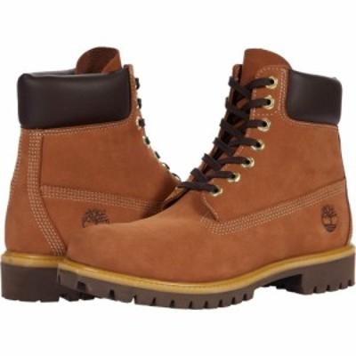 ティンバーランド Timberland メンズ ブーツ シューズ・靴 6 Premium Waterproof Boot Rust Nubuck Mid Brown