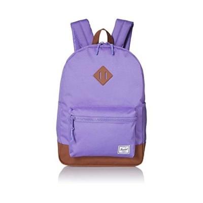 Herschel Kid's Heritage Backpack, aster Purple/Saddle Brown, Youth 16L 並行輸入品