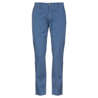 DESERT CREW パンツ ブルー 54 98% コットン 2% ポリウレタン パンツ