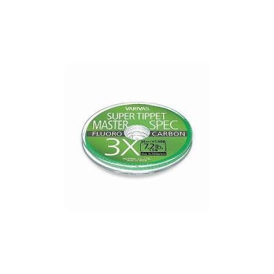 スーパーティペット マスタースペック [フロロカーボン] size 7X 0.4号 2.4lb color ナチュラル   [バリバス・VARIVAS・(モーリス)]