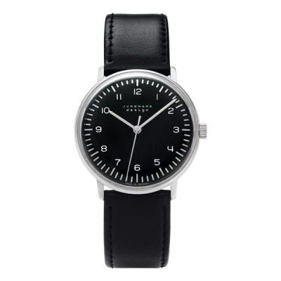 特価 ユンハンス マックスビル 027 3702 00  腕時計 メンズ JUNGHANS Max Bill HandWind 027/3702.0 ブラック系