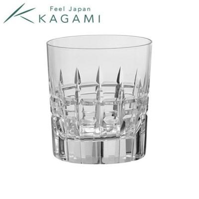 【製造終了品 在庫限り】江戸切子(カガミクリスタル) ロックグラス 260cc T769-2808