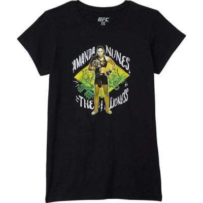 ユーエフシー UFC レディース Tシャツ トップス Amanda Nunes Painted Lioness Tee Black